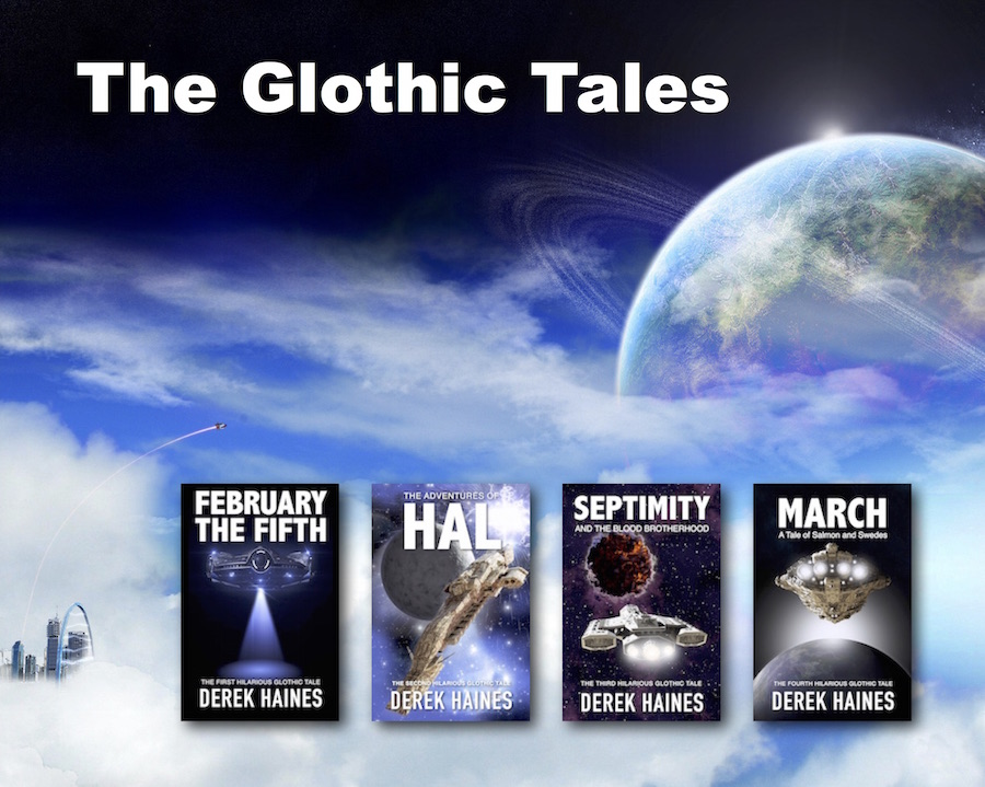 Welcome to Gloth - The Unknown Planet - The Glothic Tales by Derek Haines